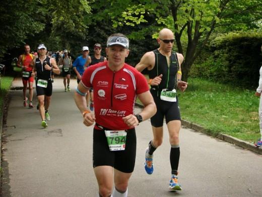 Pierre-Emmanuel sur le marathon